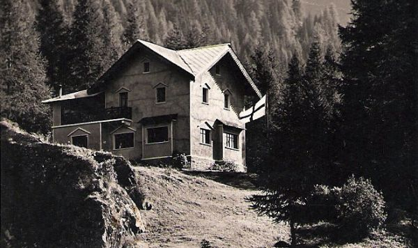 The holiday home in Champoluc at the beginning of the 20th century