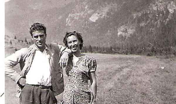 Grandpa Storace with his grandmother Anna Maria Monti